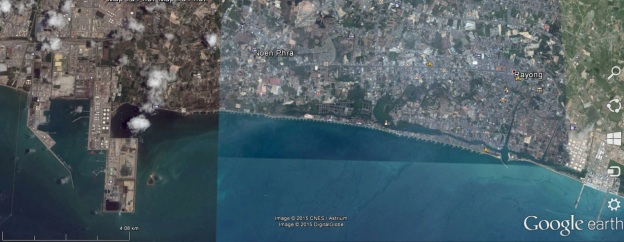 imagine on 2015? by google earth