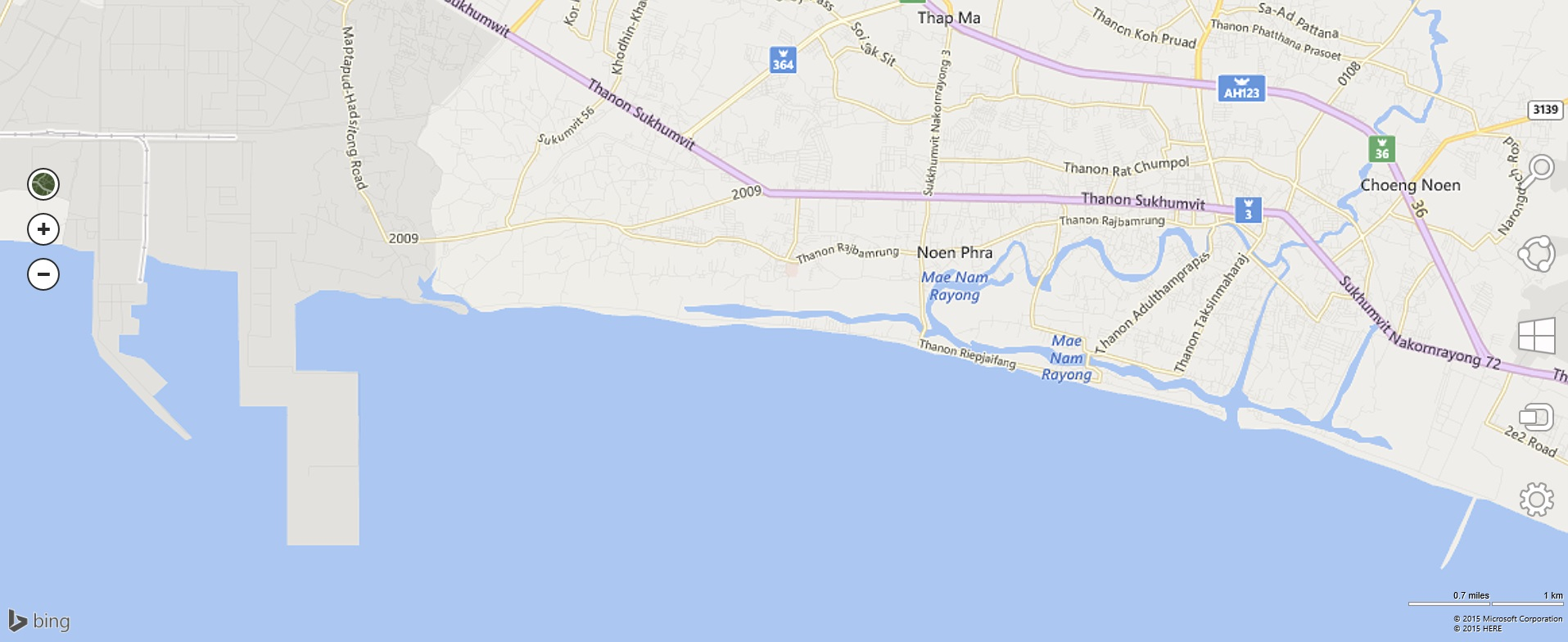 Coast of Mapta Phut Rayong Province of Thailand Revolution myself
